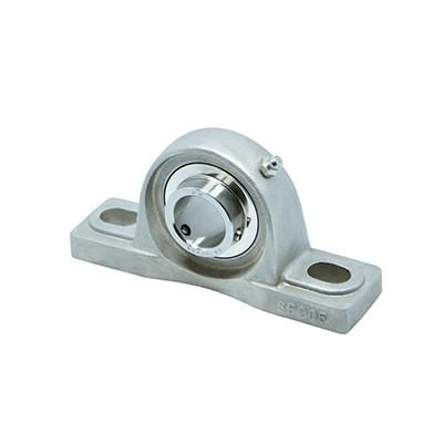 Miniature stainless steel pillow block bearing
